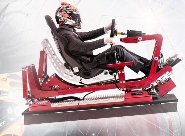 VR驾驶模拟器T3R将在东京游戏展上展出
