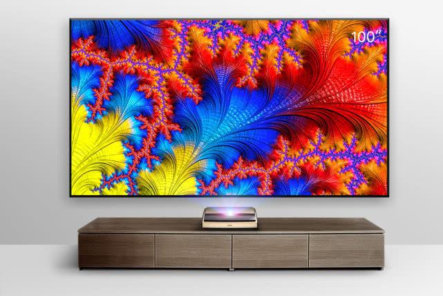 坚果推出新品S3 4K激光电视:超100寸护眼巨屏,3000ANSI流明
