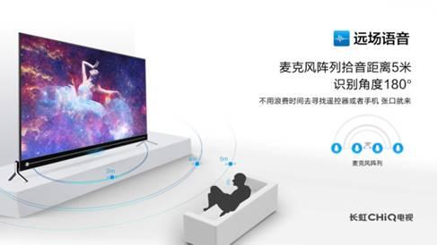 远场语音+人工智能 长虹电视Q5K语音体验