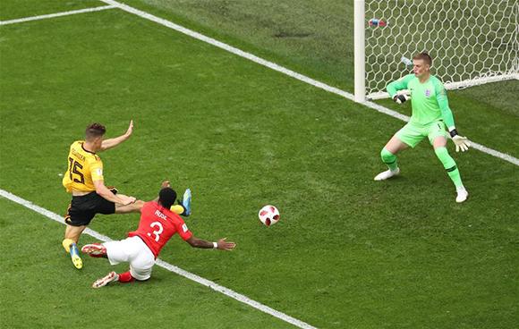 世界杯比利时2:0胜英格兰获季军 队史新纪录