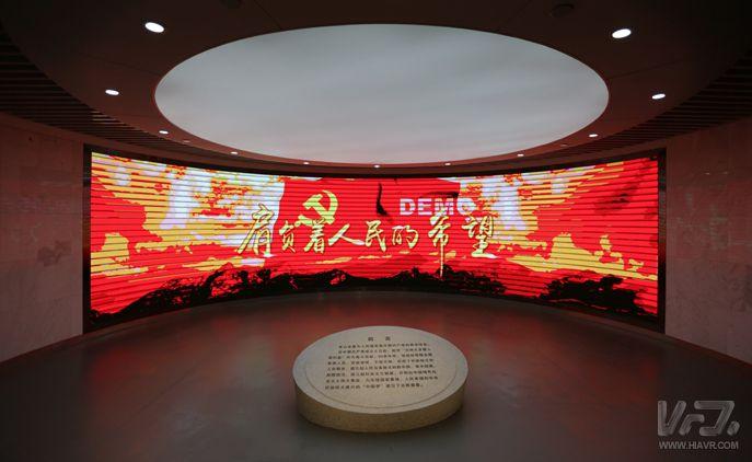 北京朝阳区建立忠诚教育基地 用VR体验英雄事迹