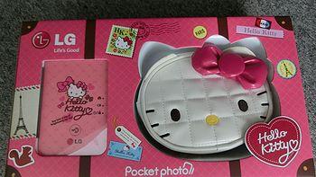 外观党最爱:朋友送的趣拍得 LG PD239SP Hello Kitty 限量口袋相片打印机