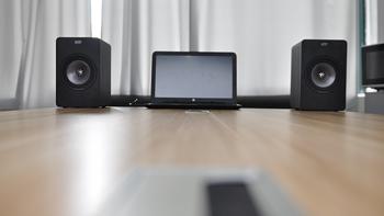 KEF X300A 有线版 HiFi书架式音箱 开箱晒单