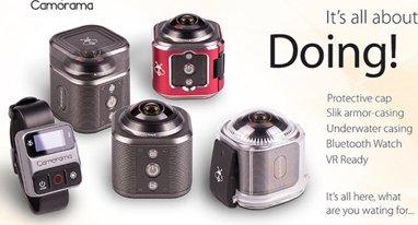 想拍摄4K超高清和360度视频?看看这款迷你摄像机
