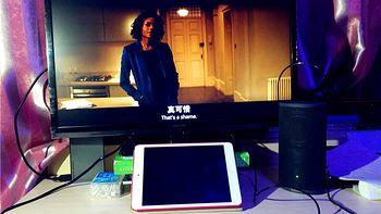 用大屏幕+音响完善出租屋的生活