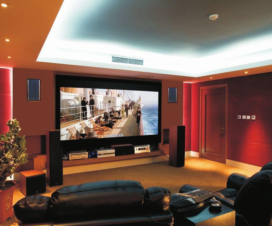 客厅装电视已经过时,装电影院才霸气呢