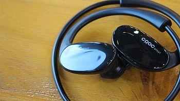 #本站首晒#健身运动好伙伴——CRDC EP-B34运动无线蓝牙耳机 开箱评测