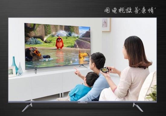 用电视改善亲情 KKTV U49MAX更了解孩子