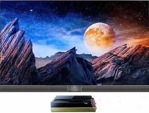 激光电视靠这个和QLED、OLED电视竞争?