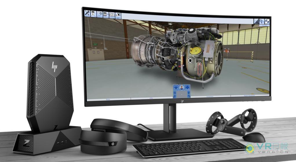 惠普与DiSTI Corporation合作开发VR培训解决方案