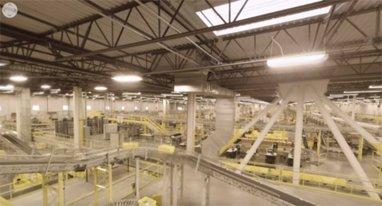 用VR的方式来看看亚马逊大仓库的360度视频吧