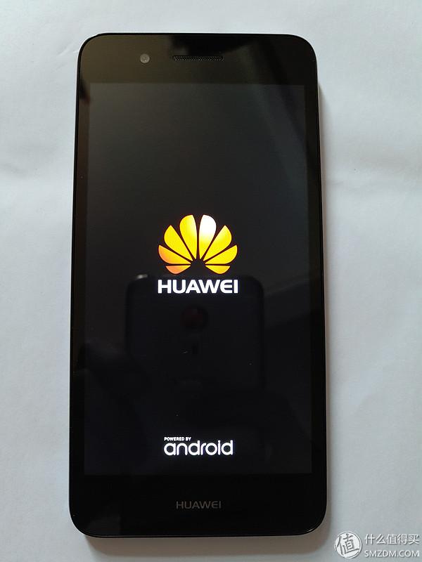 huawei 华为 畅享5s 智能手机 简单使用报告      长按电源键开机