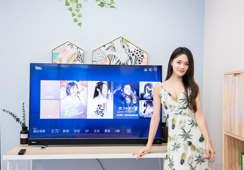 东芝U77人工智能电视图赏