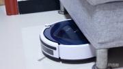 家庭清洁小助手-浦桑尼克蓝天S扫地机器人初体验
