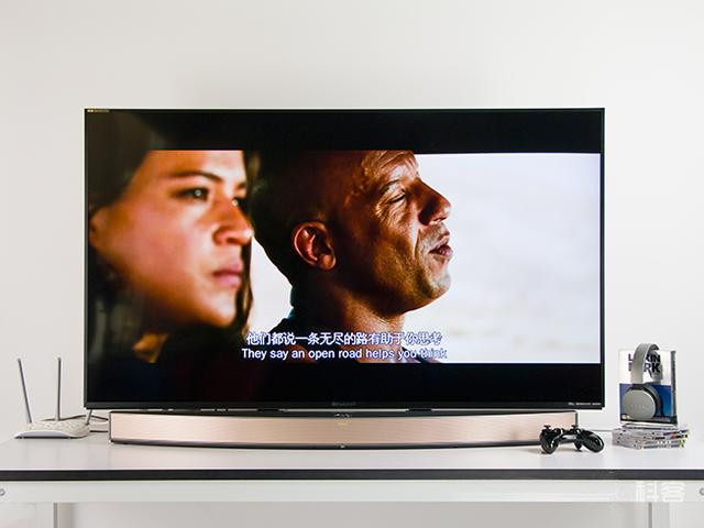 卧室升级家庭影院 夏普60英寸4K互联网电视评测
