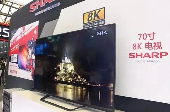 夏普全球首款8K电视即将量产,8K时代正式拉开序幕
