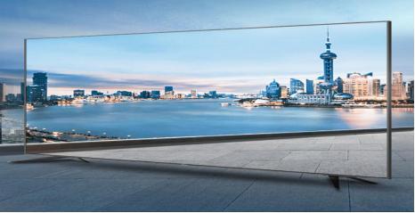 全面屏更开阔,海信4K电视尽显时尚美感