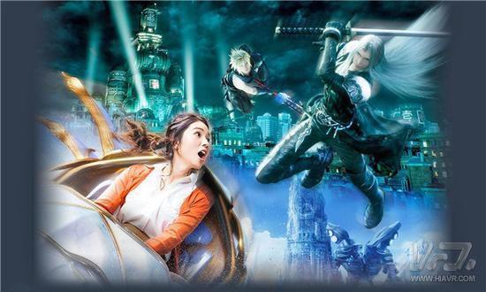 """日本环球影城推出""""最终幻想XR旅程"""" 游客需佩戴VR头显体验"""