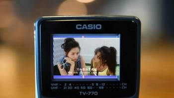 二爷玩外设 篇三十五:怀念旧时光,快三十岁的掌上液晶电视—卡西欧TV-770分享
