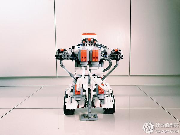 米兔积木机器人 让我更加期待的是下一次扩展更新