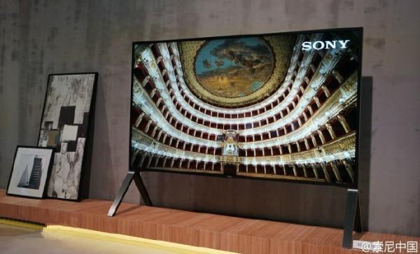 索尼4K HDR电视Z9D发布 100英寸版十一上市