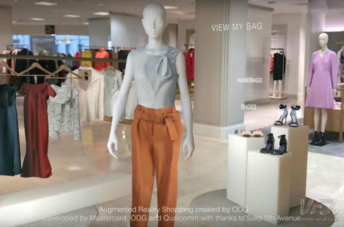 万事达、ODG和高通联手推出AR购物应用原型