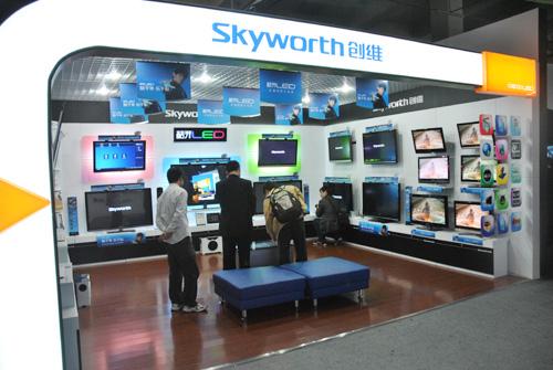 创维数码9月销售电视179.8万台 智能电视用户积累近1500万