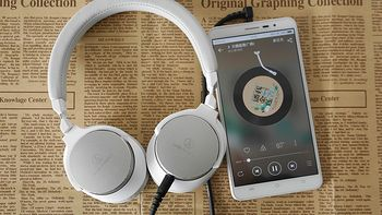 """""""陌生人妻""""MSR7低配版:audio-technica 铁三角 ATH-SR5 头戴耳机简单体验"""