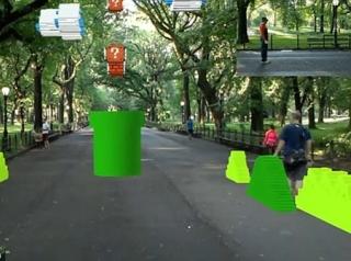 路人用奇怪眼神看着你 AR版《超级马里奥》来了