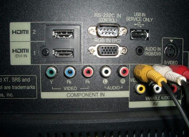 电视上各种各样的接口有什么用?你能知道几个?