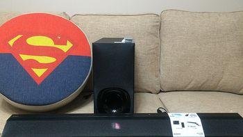 #本站首晒# SONY 索尼 HT-CT780 2.1声道 回音壁蓝牙音响
