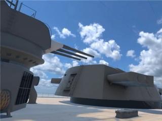 全比例真实还原 VR版大和号战舰正式竣工