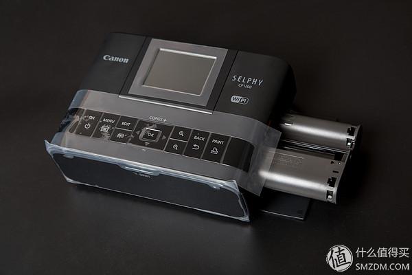 canon 佳能 cp1200 热升华打印机 伪开箱